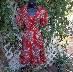 db3e0fb67ca Denim   supply ralph lauren Dresses - Denim   Supply By Ralph Lauren Floral  Wrap Tea